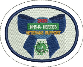 NHS Veterans Embroidered Badge